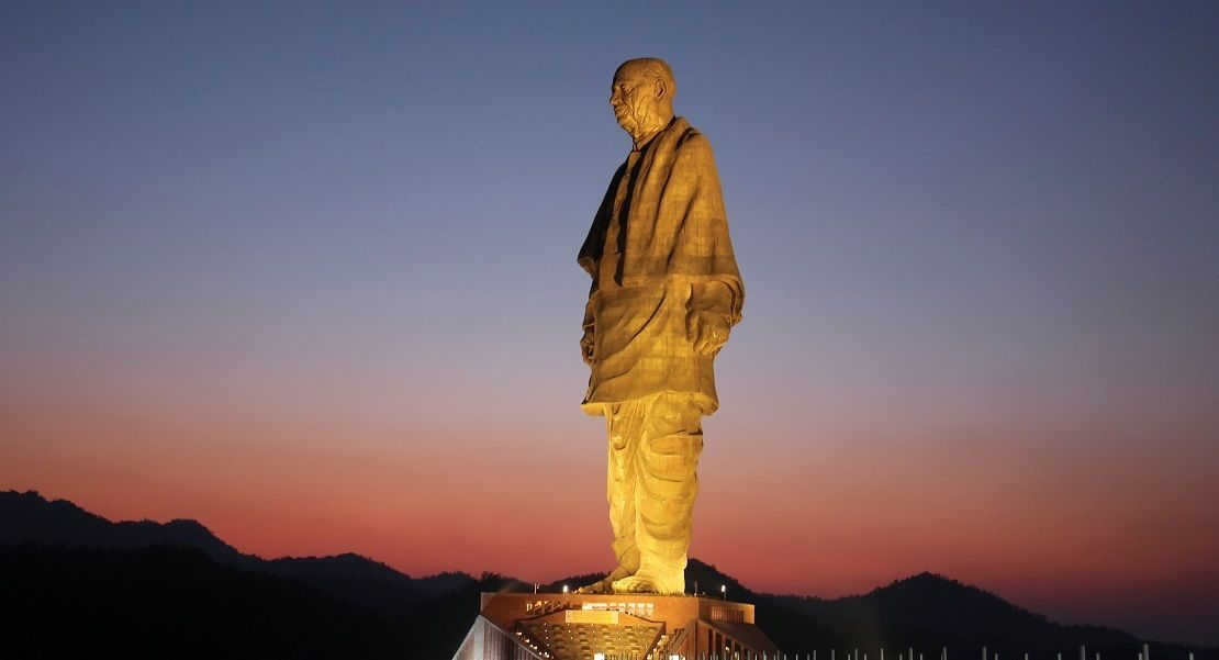 Statue of Unity – A tribute to Iron Man