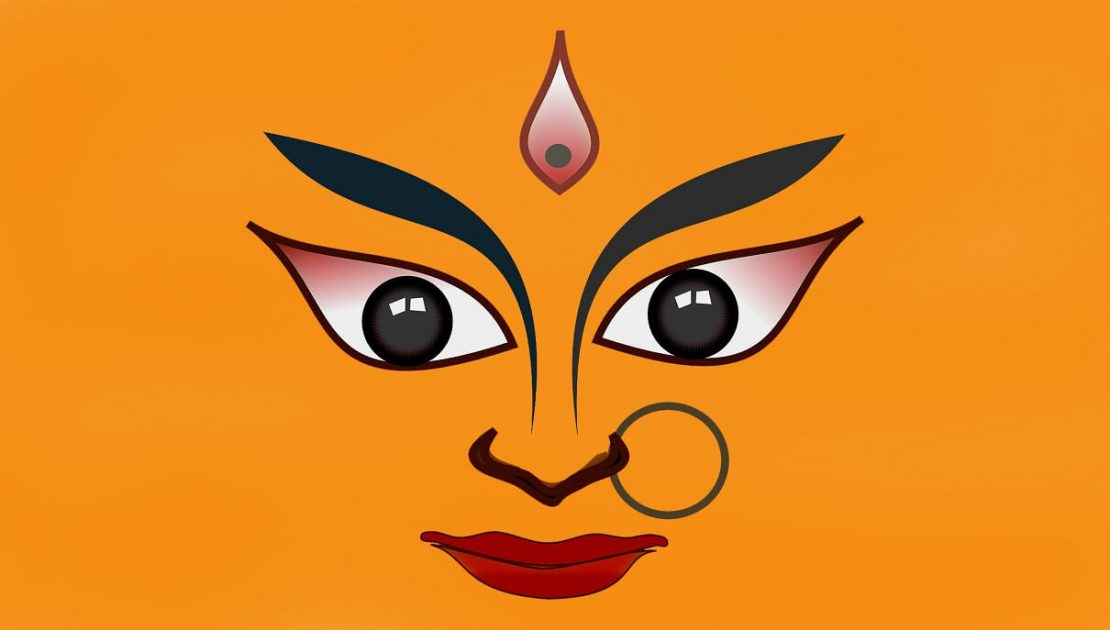 Goddess Durga photo during Navratri