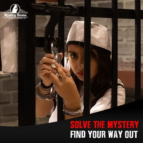Prison Break mission at Mystery Rooms Ahmedabad