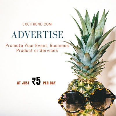 Advertise your business on ExciTrend.com