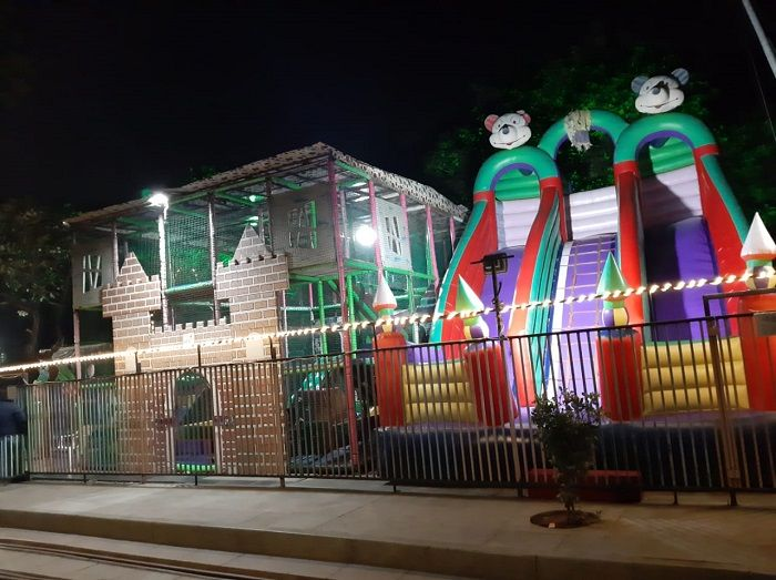 Kids play area at Kankaria Carnival 2019