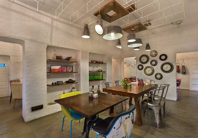Interior of Project Cafe in Ahmedabad